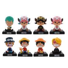 8 Styles Anime One Piece 13 CM Luffy Sanji Sabo Zoro Chopper Frank Robin PVC Action Figure Collectible Model Christmas Gift Toy new 11cm one piece dowin anime figure figurezero luffy chopper zoro toycmodel with opp bag cheaper for sale