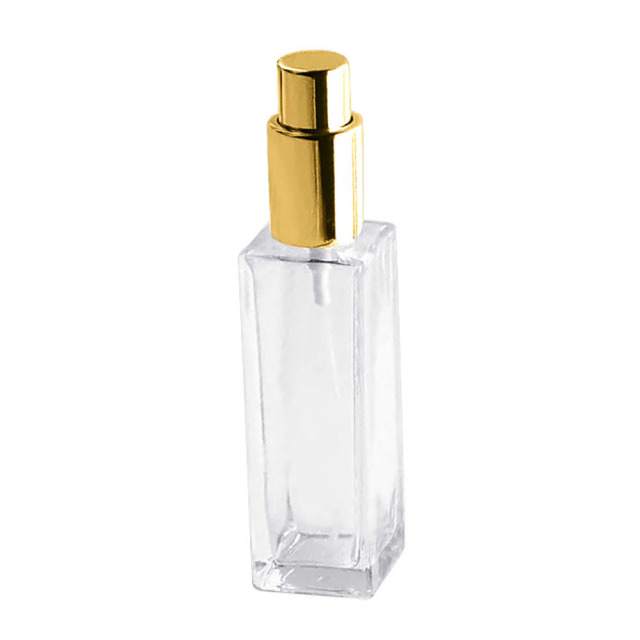 1 Pcs 30/50ml Portable Clear Glass Refillable Perfume Atomizer Empty Spray Bottle Squeeze Containers  Travel Cosmetic Container 2