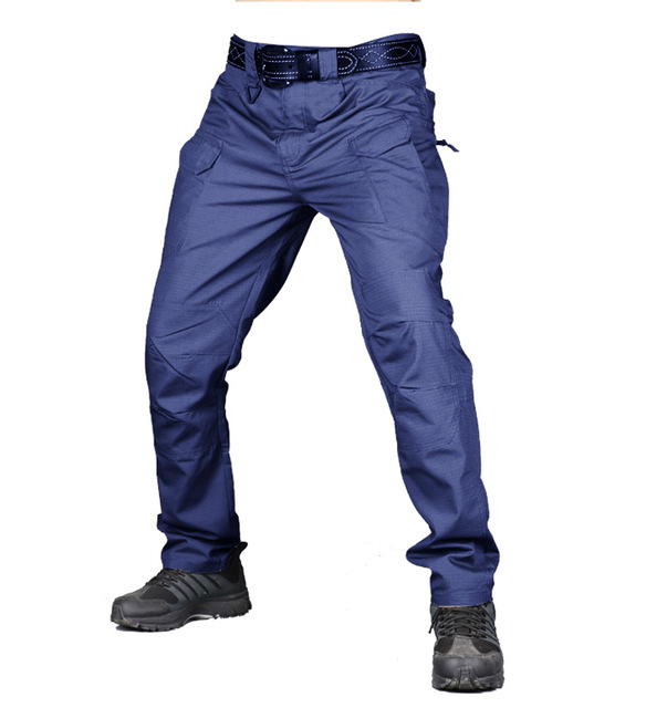 S-5XL Men Casual Cargo Pants Classic Outdoor Hiking Trekking Army Tactical Sweatpants Camouflage Military Multi Pocket Trousers 4