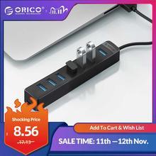 ORICO Высокоскоростной 7 портовый концентратор USB 3,0 с портом питания типа C USB2.0 сплиттер OTG адаптер для ноутбуков, настольных аксессуаров