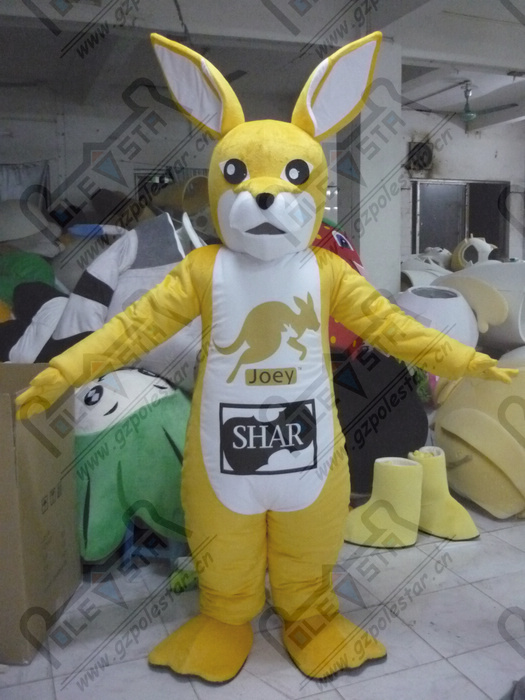 quality kangaroo mascot  costumes cartoon cusotm logo and size roo mascot design