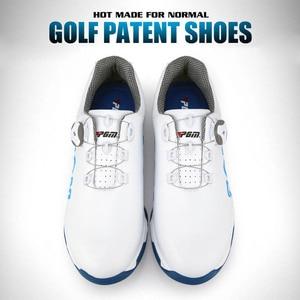 Image 2 - を PGM ゴルフシューズ男性アンチスキッドスパイク防水スニーカー通気性のスポーツトレーナー靴ゴルフ chaussure zapato ゴルフスニーカー