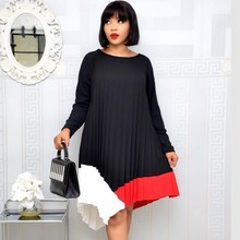 African-Dresses Ankara Clothing Dashiki Women Ladies for Print