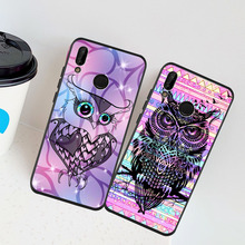 цены Fashion Bird Eagle Animal Owl Case Cover For Fundas Huawei P40 Lite Pro 20 P20 Lite Pro P30 Pro Lite Mate 20 Pro Mate 30 Pro