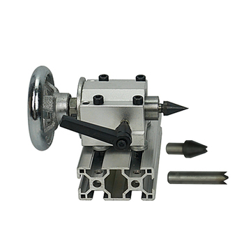 цена на tailstock center height 55mm for rotary 4th A Axis Engraver Milling cnc router engraving machine