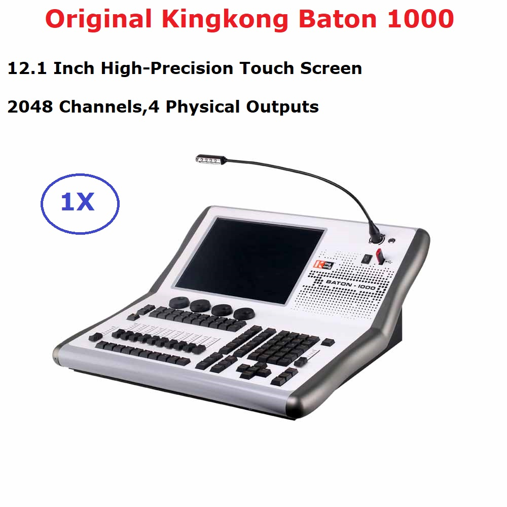2020 Kingkong Baton-1000 Professional DMX Controller 2048 DMX Channels For LED Par Moving Head Light DMX Console Dj Equipments