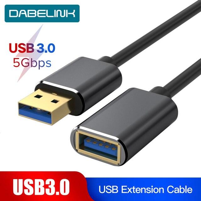USB כבל מאריך USB 3.0 Extender כבל עבור מקלדת טלוויזיה PS4 Xbo אחד SSD USB3.0 כדי Extender נתונים כבל מיני USB כבל מאריך