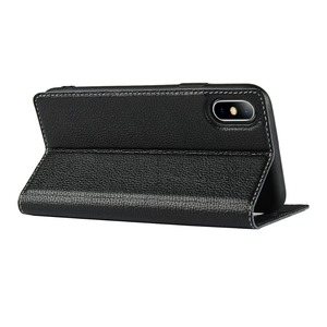 Image 5 - Genuine Leather Case For Apple iPhone 5 Se 6s 7 8 Plus iPhone X XR XS Max Vision Window Phone Cases Flip Case Leather Cover