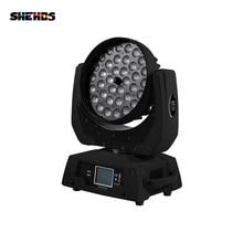 SHEHDS 36x12W RGBW 4N1 Led Zoom Moving Head Wash Light DMX51