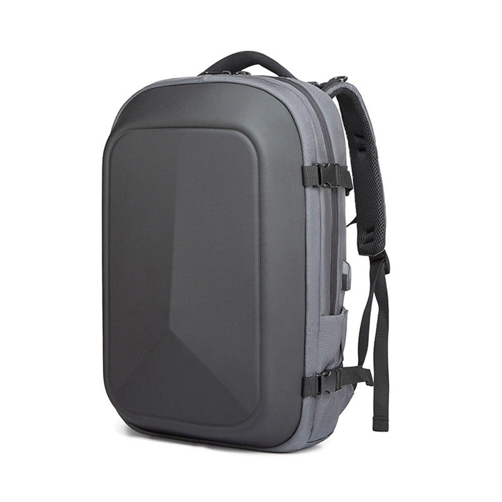 Hommes d'affaires sac solide étanche école mode USB charge sac à dos pour ordinateur portable Oxford tissu cadeau étui de transport multifonctionnel