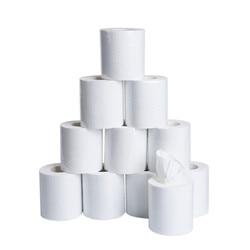 10 шт., трехслойная туалетная бумага для дома, ванной, туалетной бумаги, мягкая туалетная бумага, безвредные для кожи бумажные полотенца, туал...