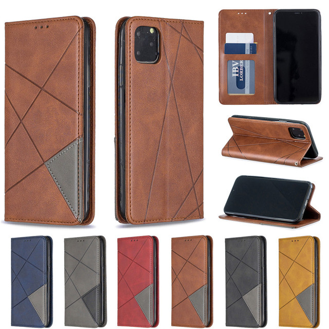 Luxury Flip Leather Wallet Case for iPhone 11/11 Pro/11 Pro Max 5