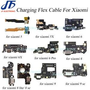 Image 1 - 10pcs/lot For xiaomi5X A1 redmi6X A2  6 pro/Mi A2 lite mi8 lite 8se mi9se USB Charger Dock port Flex Cable charging connector