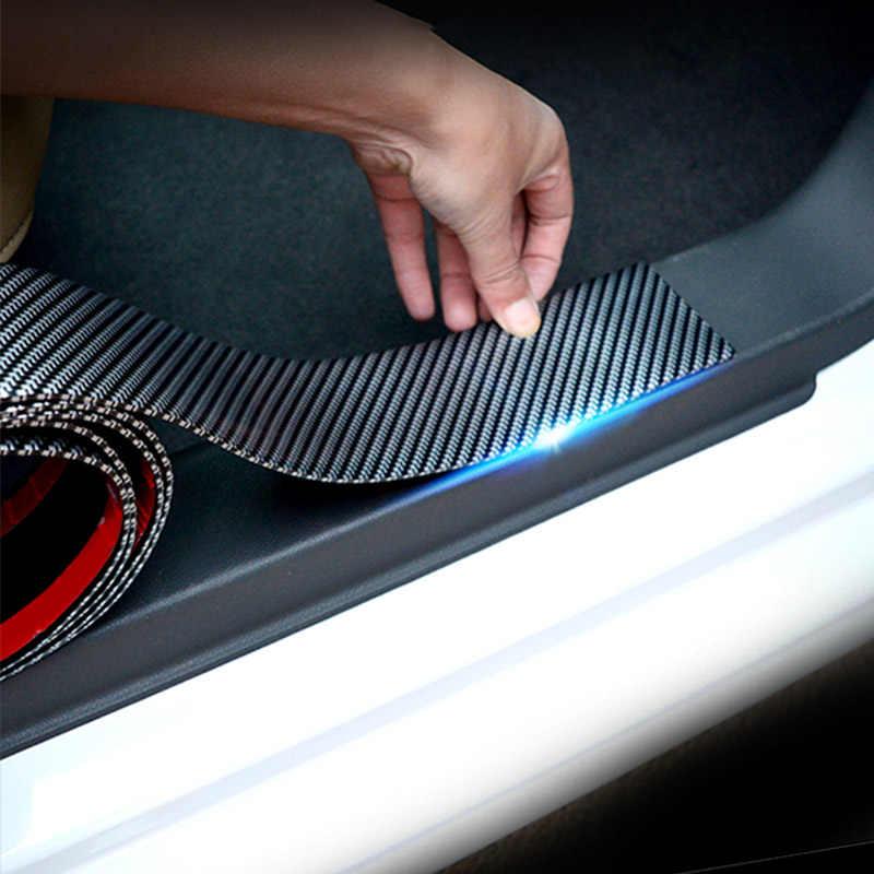 ประตูรถกันชนคาร์บอนไฟเบอร์ยางจัดแต่งทรงผมประตูสำหรับ Toyota Yaris 2018 2019 อุปกรณ์เสริม