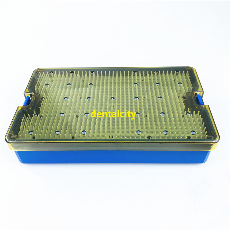 21PCS Titanium Cataract Set With Double Level Sterilization Tray Box Ophthalmic Surgical Tools