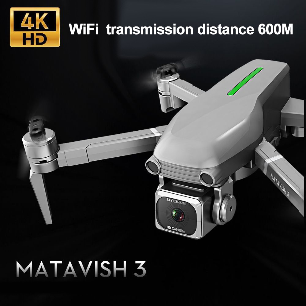 L109 RC Drone Quadcopter 4K HD Camera 5G WiFi GPS Drones With One Key Return Altitude Hold 600m WiFi Image Distance dron toys
