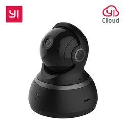 YI Domo Cámara 1080P Pan/Tilt/Zoom inalámbrico IP sistema de vigilancia de seguridad completa 360 grados de cobertura nocturna