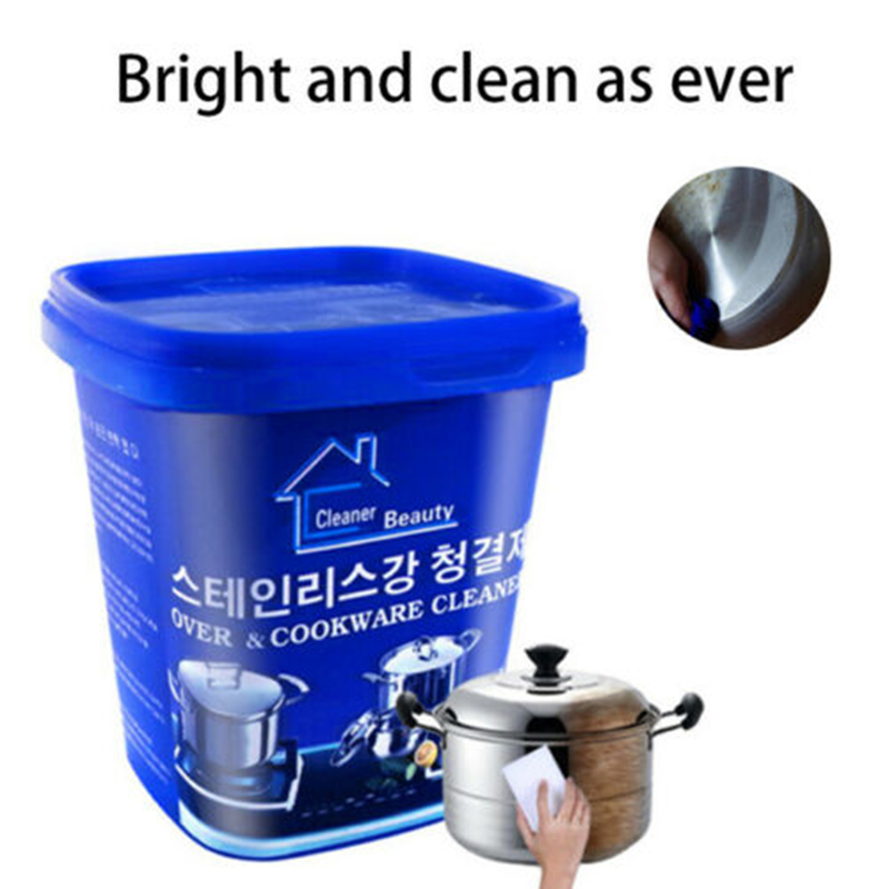 Magical Stainless Steel Cookware Kitchen Cleaner Strong Detergent Cream WWO66