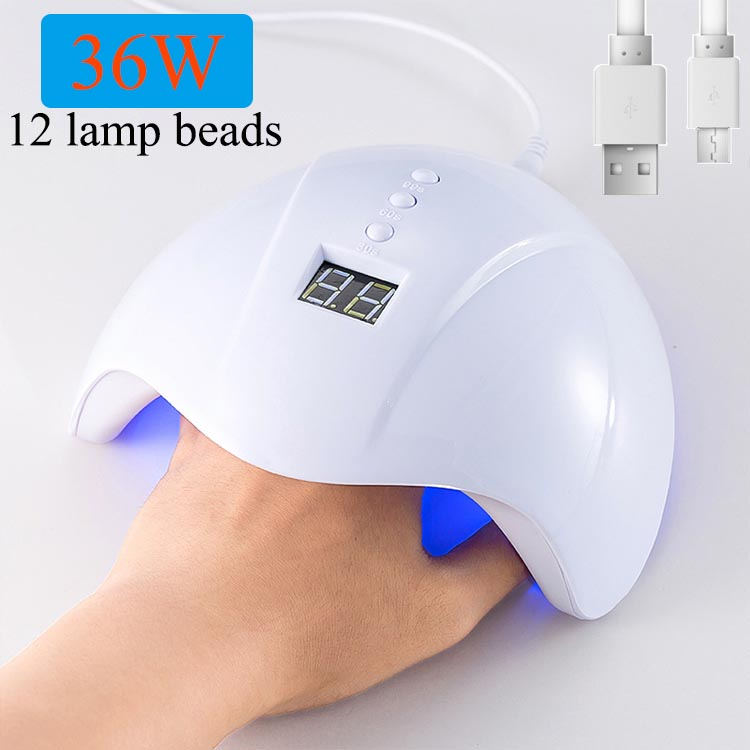 SUN MINI5A UV Lamp For Manicure LED Nail Dryer Lamp Sun Light Curing All Gel Polish Drying UV Gel USB Smart Timing Nail Art Tool