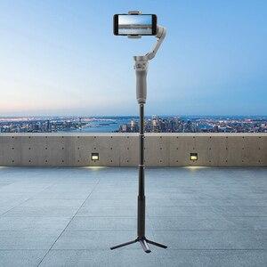 Image 1 - Için Zhiyun Feiyu Selfie sopa uzatma Reach çubuk ayarlanabilir uzatma braketi DJI OSMO Mobile 2/cep 3 Gimbal aksesuarları