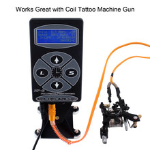 Hp-2 Digitale Lcd Tattoo Voeding Rotary Tattoo Machine Tattoo Supplies Permarent Make-Up Tattoo Voeding Snelle Levering