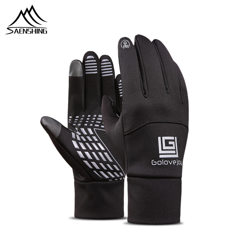 SAENSHING Thin Ski Gloves Snowboard Snow Touch Screen Snow Cycling  Women Winter Sport Gloves Windproof Waterproof Men