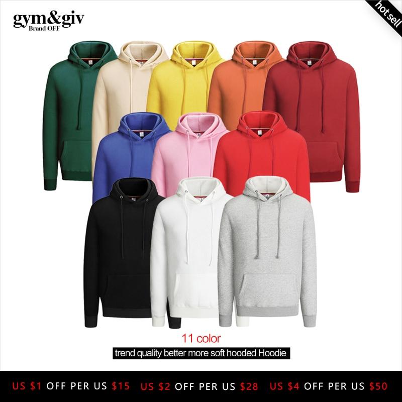NEW 100% Cotton Men Hoodies Sweatshirts Quality Better More Soft Casual Hoody Mens Hoodies Sweatshirts Asian Size