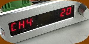 Image 5 - Streo リモートボリューム Conrol プリアンプと高音低音トーンコントローラ事前アンププリアンプハイファイオーディオ 4 で 1 アウトパワーアンプ