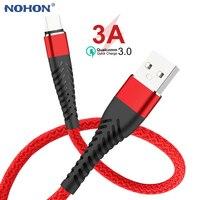 20cm 1m 2m 3m Daten USB Typ C Ladegerät Kabel Für Samsung Huawei Xiaomi Herkunft Mobile telefon Typ-c Schnelle Ladekabel Lange Draht