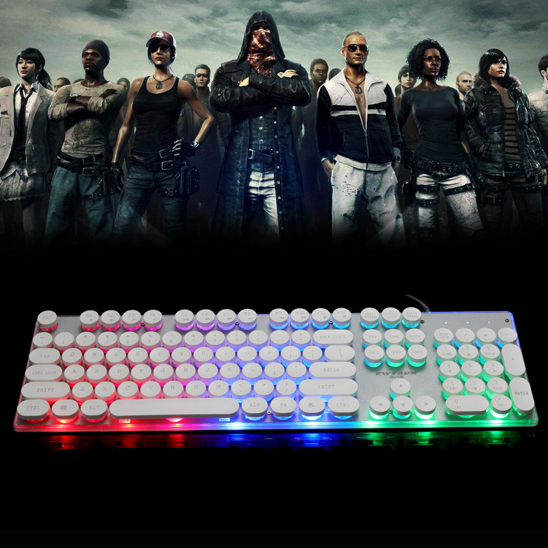 Бывший Уокер Gx60 панк-техника Handfeel клавиатура курица игровая клавиатура AliExpress клавиатура