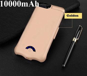 10000mAh Battery Case For iPhone X 8 7 6 6 s plus Backup Battery Charger Case Power Bank Charging Case for iphone 6 6 s 7 8 plus image