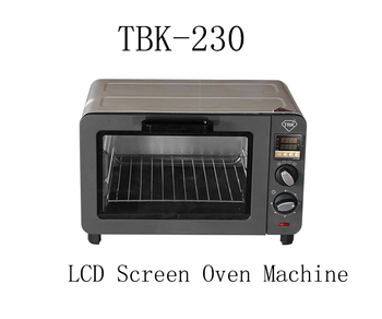TBK 230 mini electric blast screen disassemble oven Machine for computer pad  iPhone repair LCD screen drying box