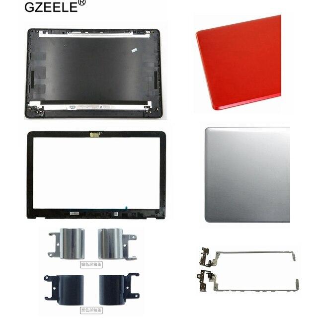 LCD الغطاء الخلفي/LCD الإطار الأمامي/المفصلات/المفصلات كوف ل HP 15 BS 15T BS 15 BW 15Z BW 250 G6 255 G6 أسود LCD الغطاء الخلفي 924899 001