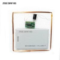 5 40 centímetros Distância de Leitura Gama WG 26/RS232 TTL 125KHz EM RFID Reader/sistema de controle de acesso leitor|Leitores de cartão de controle|Segurança e Proteção -