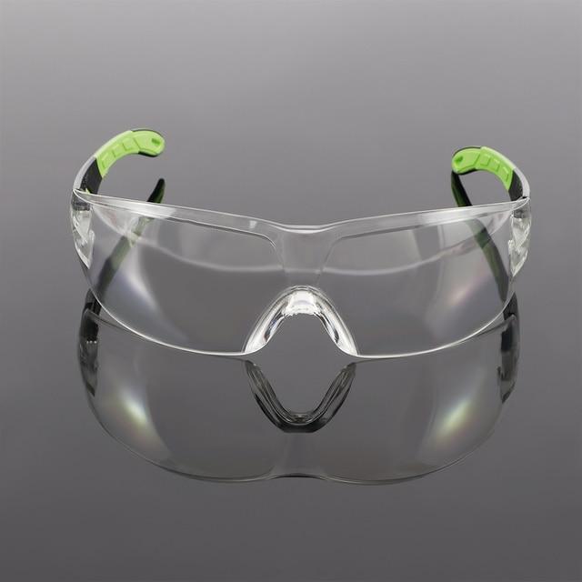 Óculos de proteção do vento e à prova de poeira glassesanti-segurança claro anti-impacto fábrica laboratório ao ar livre óculos de trabalho 2