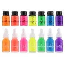 5/15ml Fluorescence Bottled Dip Fountain Pen Ink Writing Signature Pen Refilling Inks Stationery School Office Art Supplies