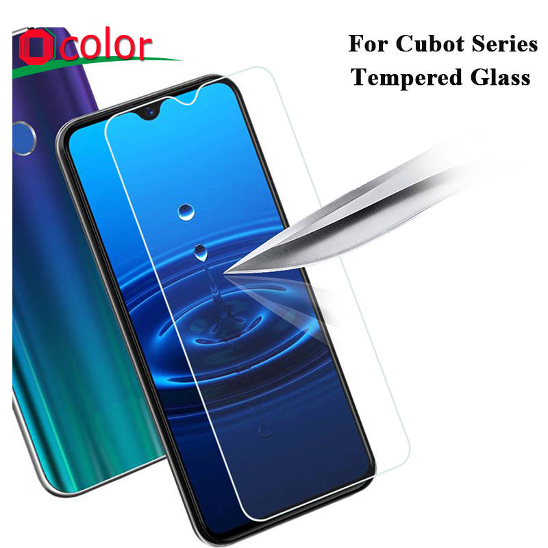 ocolor For Cubot X19 R15 X20 Pro P30 Tempered Glass Screen Protector Replacement For Cubot king kong X19S Protective Film(China)