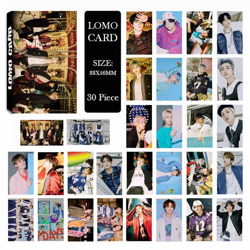 Youpop kpop NCT127 パンチnct夢リロードwayvターン時間アルバムlomoカードjaehyun勇太haechan photocardセット (30 カード)