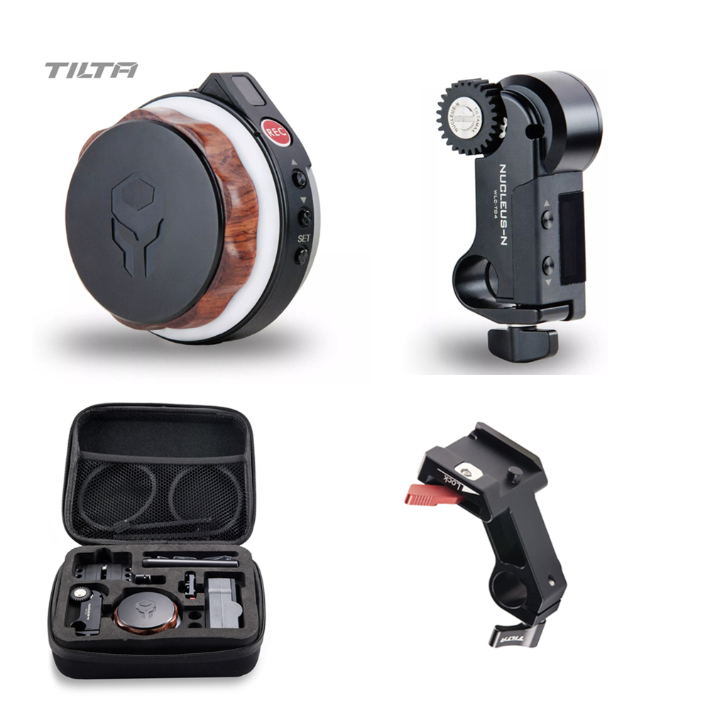 <font><b>Tilta</b></font> Nucleus-Nano Wireless Follow Focus Lens Zoom Control System Motor Hand Wheel Controller Nucleus N for <font><b>gimbal</b></font> Roin-S G2X image