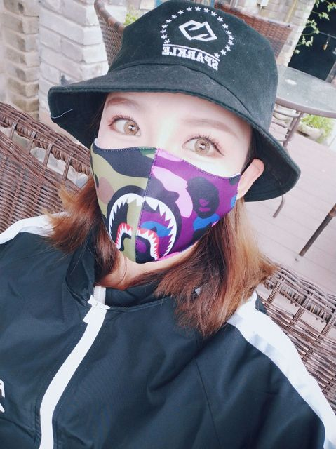 Shark Mouth Mask Cotton Dustproof Mouth Face Mask Women Men Muffle Face Mouth Masks Windproof Mouth-muffle Flu Face Mask 2