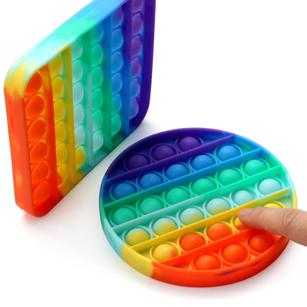 Fidget-Toys Bubble-Puzzle Pop It Adult Soft-Extrudable img3