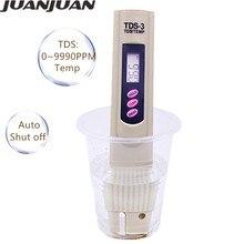 100 pièces/lot par dhl ou fedex Portable stylo Type TDS testeur de qualité de leau testeur moniteur Aquarium piscine 14% de réduction