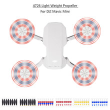 4pair Colorful Replacement Propeller for DJI Mavic Mini Drone 4726 Props Blade Wing Fans Accessories Spare Parts Kits