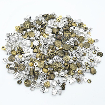 50g 100g Mixed Beads Charms Pendants Bracelets Necklaces DIY Accessories Beads for Wholesale Craft Jewelry Making Components DIY 10pcs tree branch leaf metal charms pendants brooch necklaces bracelets charms findings diy for jewelry making craft wholesale