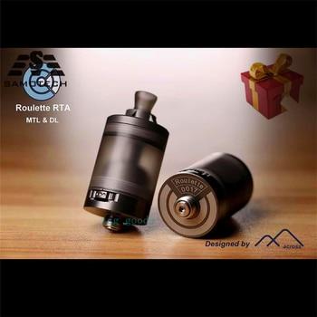Roulette Style MTL / DL RTA Rebuildable Tank Vape Atomizer 22mm Diameter 3.5ml 316ss Adjustable Airflow rta vs  imperia rta ulton fev v5 25mm mtl rta dl rta atomizer for vape mod