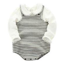 Зимняя одежда для маленьких девочек вязаный теплый свитер без