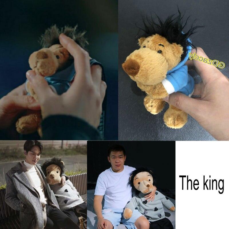 Minomi Lion Korea  Lee MinHo Idoll Doll Toy King Lion TV Same Type Minomi Lion Stuffed Pendant Doll Plush Animal Toy For Her