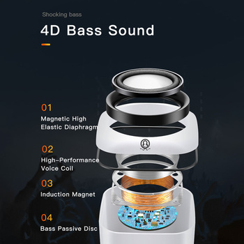 Computer Speaker A1 Deep Bass Sound Loudspeaker USB Mini Audio Speakers For Laptop Notebook Desktop PC Multimedia Loudspeakers 5