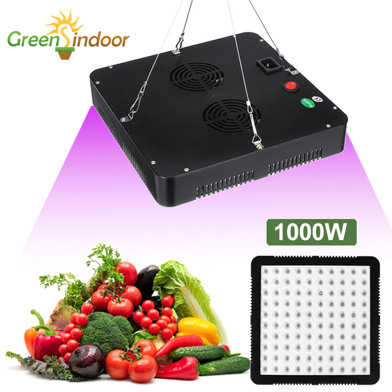 Plant Led Grow Light 1000W Full Spectrum LED Phyto Lamp Grow Tent Indoor Growing Light For Plant Flowers Seeding Growth Fitolamp