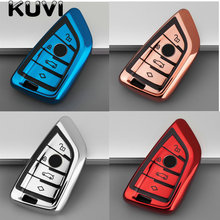 Remote Keyless Car Key Case Cover For BMW X6 F15 X4 X5 X6 540 740 750 1 2 5 218i X1 F48 X5 Key Shell Bag For Bmw keychain 6pcs fuel injectiors for bmw n54 n63 135 335 535 550 750 x5 x6 13537585261 13538616079